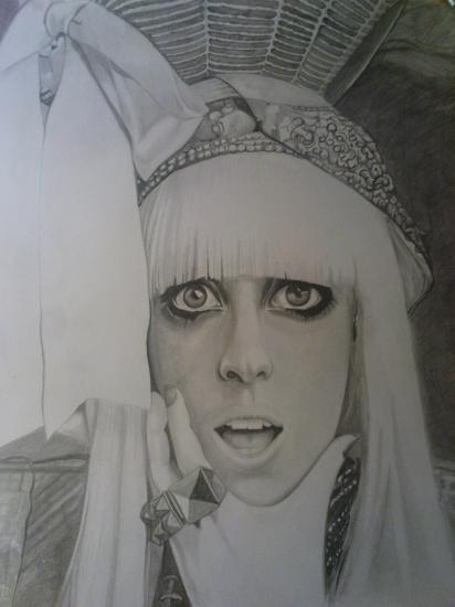Lady Gaga by Yaroslava